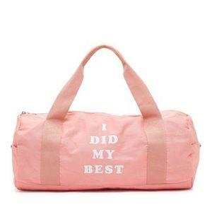 """""""I Did My Best"""" Bando Gym Duffle Bag"""
